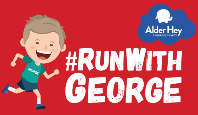 Run with George - Alder Hey Childrens Charity